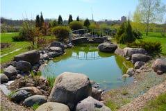 City garden Royalty Free Stock Image