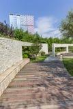 City garden landscape Royalty Free Stock Photography