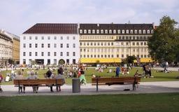 City garden - Munich Stock Photos