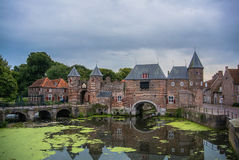 City gate in Amersfoort Royalty Free Stock Photo