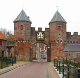 City gate Amersfoort Stock Images