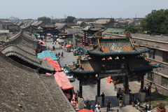 The City Gate of the ancient city Pingyao Stock Photo