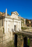 City gate, Bergamo, Italy Royalty Free Stock Photos