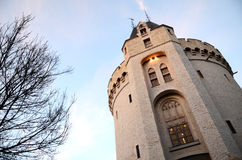 City gate of Brussels Halle Gate (Saint-Gilles side) Royalty Free Stock Photo