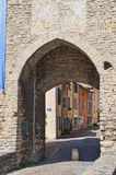 City Gate at Cremieu France Royalty Free Stock Photos