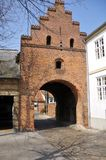 City gate Faaborg Royalty Free Stock Photo