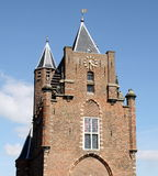 City gate in Haarlem Royalty Free Stock Photos