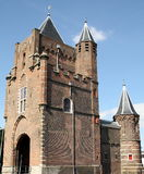 City gate in Haarlem Stock Photo
