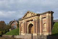 City gate the Hampoort, Grave, Netherlands Royalty Free Stock Photography