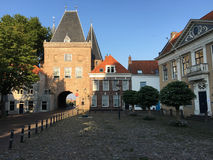 City gate in Kampen Royalty Free Stock Photography
