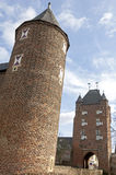 City gate Klever Tor, Xanten, Germany Royalty Free Stock Images