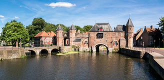 City gate Koppelpoort in Amersfoort, Netherlands Royalty Free Stock Images