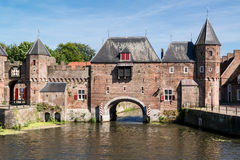 City gate Koppelpoort in Amersfoort, Netherlands Stock Photography