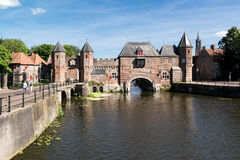 City gate Koppelpoort in Amersfoort, Netherlands Stock Photos