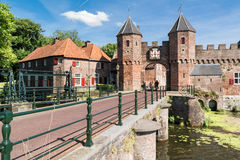 City gate Koppelpoort in Amersfoort, Netherlands Royalty Free Stock Image
