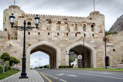City gate Muscat Stock Photography