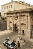 City gate to the old town. Zadar. Croatia Stock Image