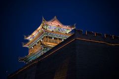 City gate tower Royalty Free Stock Photos