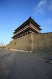 City gate tower. In Pekin China Royalty Free Stock Photography