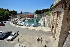 City gates of Zadar Stock Photo