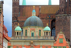 City of Gdansk. Old town in Gdansk, Poland Royalty Free Stock Photo