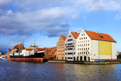 City of Gdansk Stock Image
