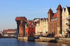City of Gdansk Stock Photography