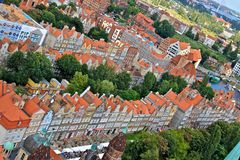 City of Gdansk Royalty Free Stock Photos