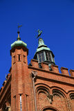 City of Gdansk. Tower, historical building, Gdansk (Danzing), Poland stock photos