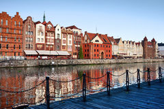 City of Gdansk in Poland Stock Image