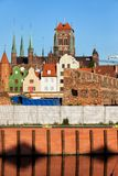 City of Gdansk in Poland Royalty Free Stock Images