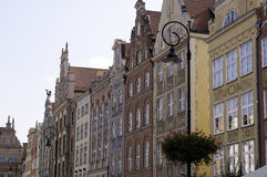 City of Gdansk, Poland. Royalty Free Stock Image