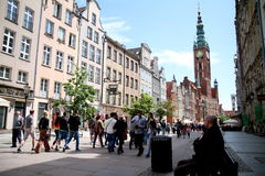 City of Gdańsk Stock Photography