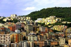 City of Genoa, Italy Stock Images