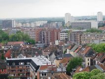 City of Gent in Belgium Royalty Free Stock Photography