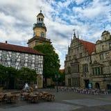 City Germany. Die Altstadt Rinteln Church Royalty Free Stock Photo