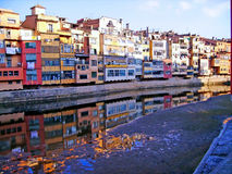 City of Gerona Stock Image