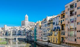 City of Gerona, Spain Royalty Free Stock Photo