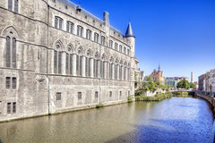 City Ghent Stock Photography