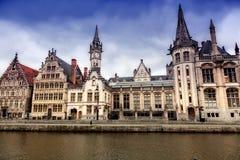 City of Ghent, Belgium Stock Images
