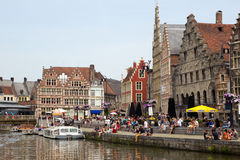 City of Ghent - Belgium Royalty Free Stock Photos