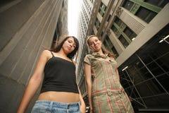 City girls Stock Photo