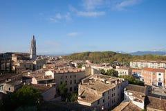 City of Girona Cityscape Royalty Free Stock Photos