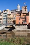 City of Girona Royalty Free Stock Photo