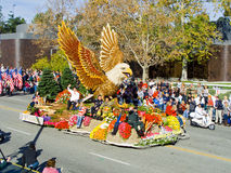 City of Glendale 2010 Rose Bowl Parade Float Royalty Free Stock Photography