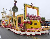 City Of Glendale 2011 Rose Parade Float Royalty Free Stock Images