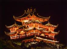 City God Chenghuang Pavilion West Lake Hangzhou Zhejiang China Royalty Free Stock Image