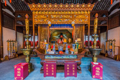 City god temple Chenghuang Miao shanghai china Royalty Free Stock Photo