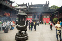 City God Temple, or Chenghuang Miao, Shanghai Royalty Free Stock Images