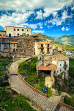 The city of Godfather film - Savoca Stock Images
